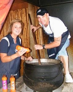 The traditional potjie meal is as South African as boerewors and biltong