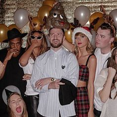 Pin for Later: Taylor Swift Throws Back to Her B-Day Fun With Justin Timberlake and Beyoncé