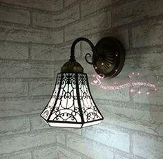 lampes Tiffany lampe chambre salon lampe Lampe murale Applique couloir de style européen salle de bain miroir plan créatif baroque mur