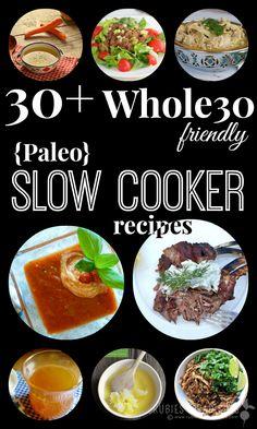 Whole 30 Slow Cooker Recipes Paleo Crockpot Recipes, Healthy Recipes, Clean Eating Recipes, Slow Cooker Recipes, Real Food Recipes, Healthy Eating, Cooking Recipes, Paleo Meals, Cooking Tips