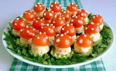"""Appetizer """"Fly Agaric"""" 