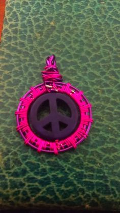Peace Sign (purple and Pink)