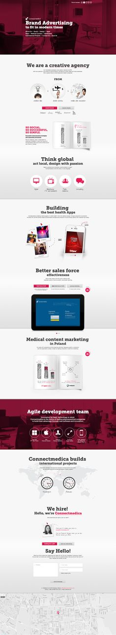 http://www.connectmedica.com/ #webdesign nice use of on-page navigation and interaction to keep design light while providing useful content
