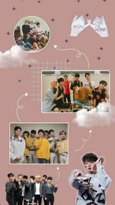 Discover recipes, home ideas, style inspiration and other ideas to try. Kim Hanbin Ikon, Chanwoo Ikon, Ikon Kpop, Bible Verse Wallpaper, Wallpaper Quotes, Wallpaper Backgrounds, Blue Aesthetic, Kpop Aesthetic, Pink Wallpaper Android