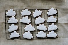 Biscuits nuages.