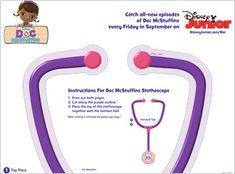 5 Free doc mcstuffins  printables for kids