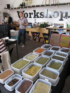 tea workshop- herbal infusions.