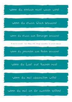 Wenn-Buch-Bastelvorlagen in verschiedenen Farben  #wennbuch #bastelvorlage #wennbuchvorlage
