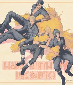 埋め込み Happy Birthday Prompto