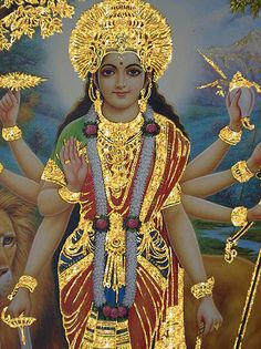 Female by birth, Woman by age, Lady by choice. - nepal: Hindu Goddess Durga. | via Tumblr