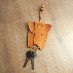 Elephant Leather Key Holder Vegetable tanned key holder