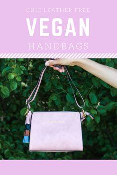 The chicest, leather free vegan handbag brands on the market! Vegan Fashion, Slow Fashion, Ethical Fashion, High End Handbags, Handbag Brands, Vegan Purses, Ethical Shopping, Vegan Style, Vegan Handbags