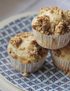 Peach muffin | Feed me: Breads & Muffins | Pinterest | Oat Muffins ...