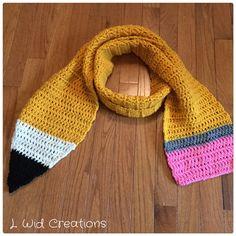Shipping the adorable pencil scarf for teacher appreciation ✏️✏️