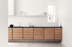 Form 1 - the original wood kitchen from Multiform Kitchen Interior, Interior Design Living Room, Kitchen Decor, Kitchen Ideas, Interior Minimalista, Style Deco, Cuisines Design, Minimalist Interior, Küchen Design