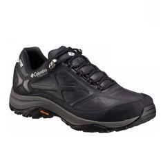 Columbia Men's Terrebonne Outdry Low Extreme Hiking Shoes Black/White 1718111