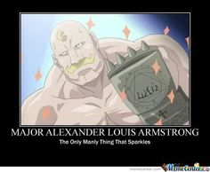 Major Alex Louis Armstrong!!