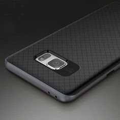 Luxury Phone Case For Samsung Note 7 Camera Protect Anti Shock Cover--Grey…
