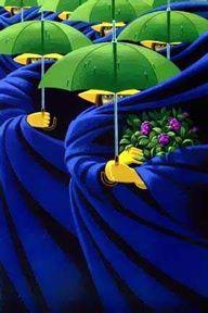 """Femmes de Mai (Women of May)"", Canadian artist, Claude Theberge"