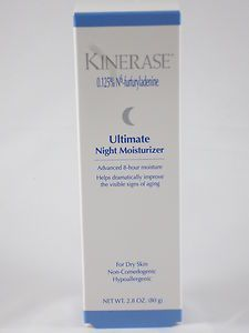 Kinerase Ultimate Night Moisturizer - 2.8 oz + Sample