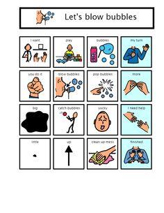 Bubbles communication board- from https://sites.google.com/a/beaverton.k12.or.us/teacherfreda/homework