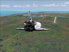 Space Shuttle Landing Today CAPE CANAVERAL, Fla. — Space shuttle Discovery is finally headed home. The sky over NASA's Florida landing st...