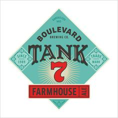 Boulevard Brewing in Kansas City, Mo. named Tank 7 after the fermentation tank w. Brewing Recipes, Homebrew Recipes, Beer Recipes, Home Brewing Beer, Brewing Co, Brooklyn Brewery, Clone Recipe, Farmhouse Ale, American Beer