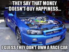 I guess they don't own a racecar... - Car Memes