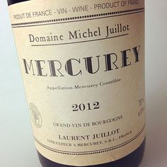 2012 Domaine Michel Juillot Mercurey // affordable red Burgundy