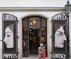 AMI Marionettes Shop, Prague - World's Greatest Toy Stores Prague Christmas, Prague Travel, Prague Czech Republic, Travel Souvenirs, Medieval Town, Bratislava, Travel And Leisure, Toy Store, Puppets