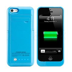 ISAKO® Iphone 5 Iphone 5s Iphone 5c Universal Slim Battery Case Rechargeable Portable Outdoor Moving Battery Slim Light External Battery 2200 Mah 4 LED Lights with Built-in Pop-out Kickstand Holder 6 Colors Black White Blue Pink Green Yellow for Iphone 5 5s 5c(Blue) ISAKO http://www.amazon.com/dp/B00UT1BRKC/ref=cm_sw_r_pi_dp_2kpLvb0AJYTPN