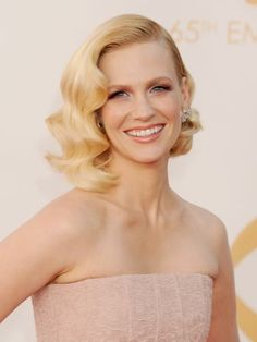 Celebrity bob hairstyles to inspire you :: January Jones