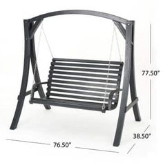 Wrought Iron Garden Furniture, Welded Furniture, Steel Furniture, Home Swing, Patio Swing, Metal Chairs, Patio Chairs, Porch Swing With Stand, Wood Patio