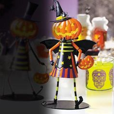 Jill is back this Halloween to help make your home trick-or-treat ready. Find her at PartyLIte.com