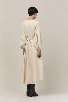 ZINNIA DRESS CREAM