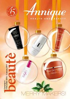 View the Annique December 2016 Beautè specials Forever Young, Health And Beauty, December, Cover