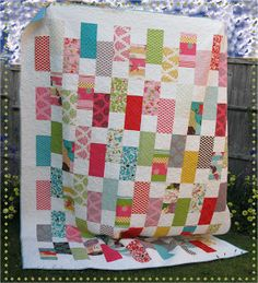 sweet and simple to make; quilt with great fabric