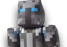 Minecraft PopularMMOs plush toy. Get yours at http://www.craftingnerdy.com
