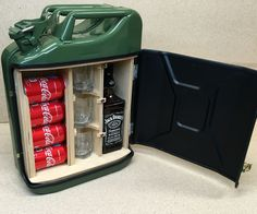This time I'll show you how to make A Mini Bar From Jerry Can.How I did it - you can check by looking DIY video or you can follow up instructions bellow....