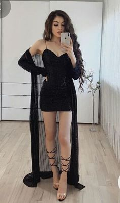 Nye Outfits, Cute Skirt Outfits, Crop Top Outfits, Teen Fashion Outfits, Cute Casual Outfits, Stylish Outfits, Casual Dresses, Girl Outfits, Fashion Dresses