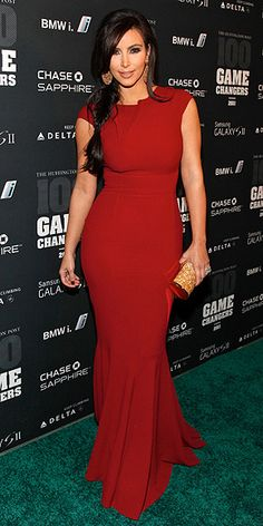 Oh Kim, we share initials, we are curvy girls. I may not always like your style. But I love this dress!!!!!!!
