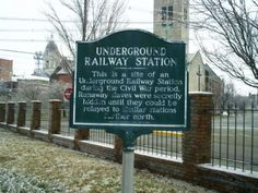 I don't think I have ever seen this sign. Evansville Indiana, Indianapolis Indiana, Underground Railroad, South Bend, Stirling, Covered Bridges, Civil Rights, Back Home, Day Trips