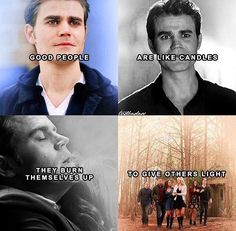 R.I.P. Stefan Salvatore 1864- 2017... the brother that died to save the ones he loved