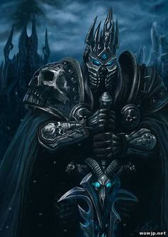 World Of Warcraft, Warcraft Art, Arthas Menethil, Shadow Of Mordor, Lich King, Death Knight, Futuristic City, Creature Concept Art, Wow Art