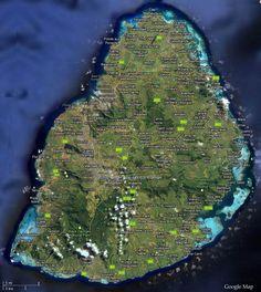Mauritius Roads Map Mauritius Maps Pinterest Mauritius - Map mauritius roads
