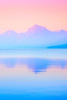 pastel - nature - sky - water - reflection