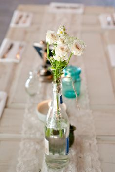 industrial wedding inspiraiton, Arizona Wedding, white wedding details, casual wedding attire