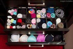 organizacion en el armario (ropa interior