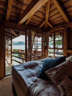 Design Hotel, Mountain High, Outdoor Furniture, Outdoor Decor, Van Life, Switzerland, Gazebo, Pop Up, Viajes