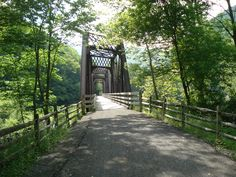 Cedar Run Bridge on Pine Creek Rail Trail, PA